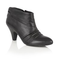 Lotus Hickory Zip Up Ankle Boots Black