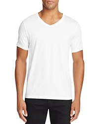 Hugo Danny V Neck Tee White