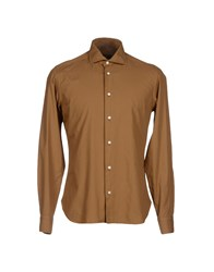 Tonello Shirts Shirts Men Khaki