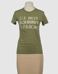 Worn Free Short Sleeve T Shirts Military Green