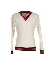 Band Of Outsiders Knitwear Jumpers Men Ivory