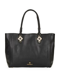 Nanette Lepore Charlotte Leather Tote Black