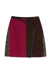 Fendi Tweed Skirt Multicolor