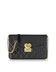 Love Moschino Quilted Medium Shoulder Bag Black