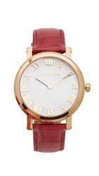 Michael Kors Norie Watch Gold Garnet