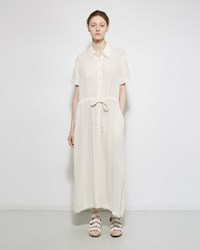 Raquel Allegra Button Up Dress