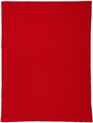 Christophe Lemaire Red Wool Scarf