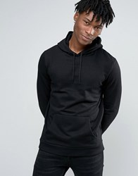 New Look Hoodie In Black Black