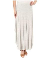 Mod O Doc Space Dyed Rayon Spandex Jersey Round Midi Skirt Mist Heather Women's Skirt Purple
