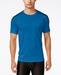 Reebok Men's Activchill Performance T Shirt Blue