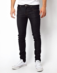 Dr. Denim Dr Denim Jeans Snap Skinny In Blue Raw