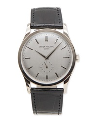Classic Patek Philippe Calatrava White Gold Watch Nm Watch Collection By Crown And Caliber