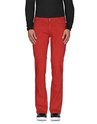 John Richmond Denim Denim Trousers Men Brick Red