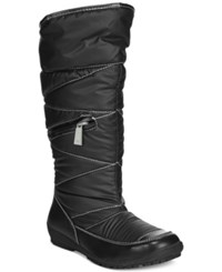 Sporto Master Zip Up Vylon Cold Weather Boots Women's Shoes Black