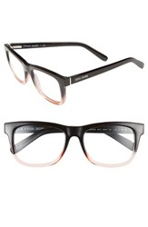 Bobbi Brown Women's 'The Bedford' 52Mm Reading Glasses Black Pink Crystal Black Pink Crystal