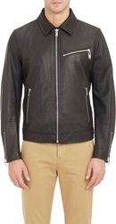 Marc By Marc Jacobs Brennan Motorcycle Jacket Black Size S