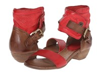 Miz Mooz Cali Red Women's Sandals