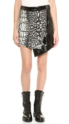Stylestalker Cats Without Claws Skirt Leopard