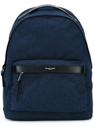 Michael Kors Denim Backpack Blue