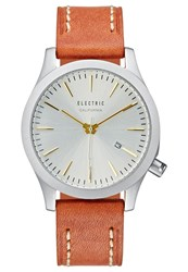 Electric Eyewear Electric Watch Goldcoloured Brown