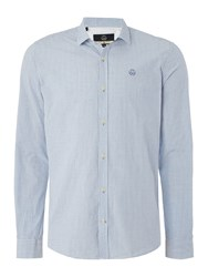 Duck And Cover Quest Long Sleeve Shirt Ice Blue