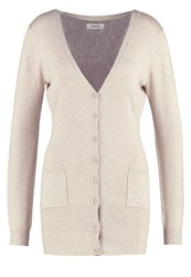 Zalando Essentials Cardigan Beige Mottled Beige