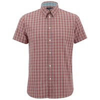 Paul Smith Jeans Men's Classic Fit Check Shirt Red
