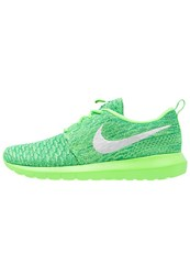 Nike Sportswear Roshe Nm Flyknit Trainers Voltage Green White Lucid Green Neon Green