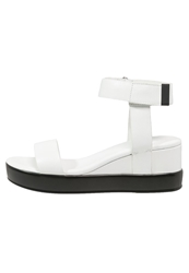 French Connection Petja Platform Sandals Summer White