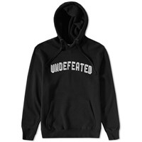 Undefeated Emblem Pullover Hoody Black