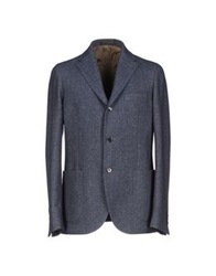 Royal Hem Blazers Slate Blue