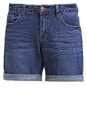 New Look Louis Denim Shorts Blue