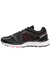 Reebok Exhilarun 2.0 Cushioned Running Shoes Black Pink White