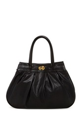Jj Winters Bailey Leather Tote Black