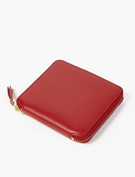 Comme Des Garcons Red Classic Leather Wallet