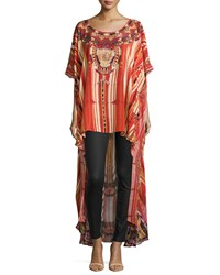 Camilla Arrows Of The Loom High Low Caftan