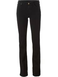 7 For All Mankind Slim Bootcut Jeans Black