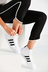 Adidas Originals Pro Model High Top Sneaker Black And White