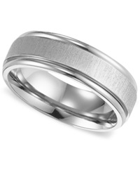 Triton Men's Titanium Ring Comfort Fit Wedding Band