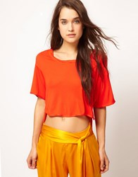 Kore By Sophia Kokosalaki Dipped T Shirt Sunset
