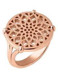 Links Of London Timeless Rose Gold Coin Ring