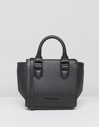 Kendall Kylie Brook Mini Structured Tote Bag In Black Black