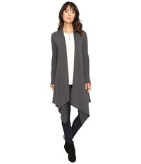 Culture Phit Carmen Wrap Shawl Grey Women's Sweater Gray