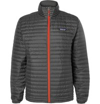 Patagonia Quilted Hell Down Jacket Gray