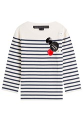 Marc By Marc Jacobs Cotton Breton Striped Shirt Stripes