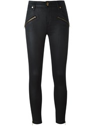 Burberry Skinny High Rise Jeans Black