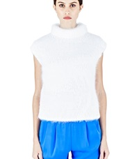 Vionnet Thick Mohair Knit Sweater