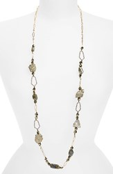 Women's Alexis Bittar 'Elements' Crystal Honeycomb Link Necklace