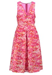 Whistles Delphi Cocktail Dress Party Dress Pink Multi