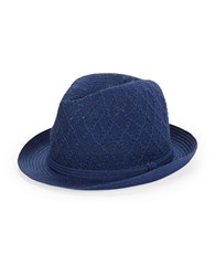 Collection 18 Adjustable Fedora Blue